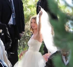 Emily VanCamp en plein tournage à Los Angeles.