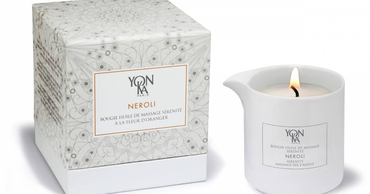 bougie parfum 233 e huile de neroli yonka 40