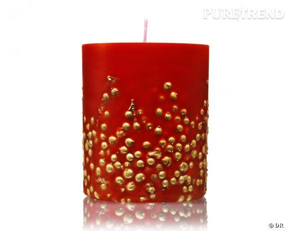 Bougie parfumée Bacche Ora, Acqua di Parma, édition limitée Noël 2013, 93 €