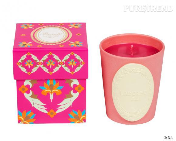 Bougie parfumée Ispahan, Ladurée, 51 €