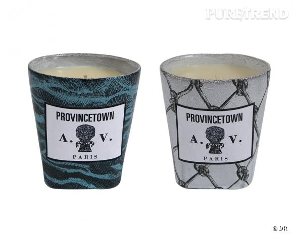 bougies parfum es provincetown astier de villatte x john derian 110 chacune. Black Bedroom Furniture Sets. Home Design Ideas