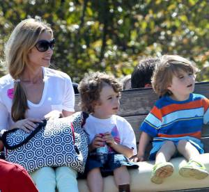 Denise Richards ne veut plus s'occuper des jumeaux violents de Charlie Sheen
