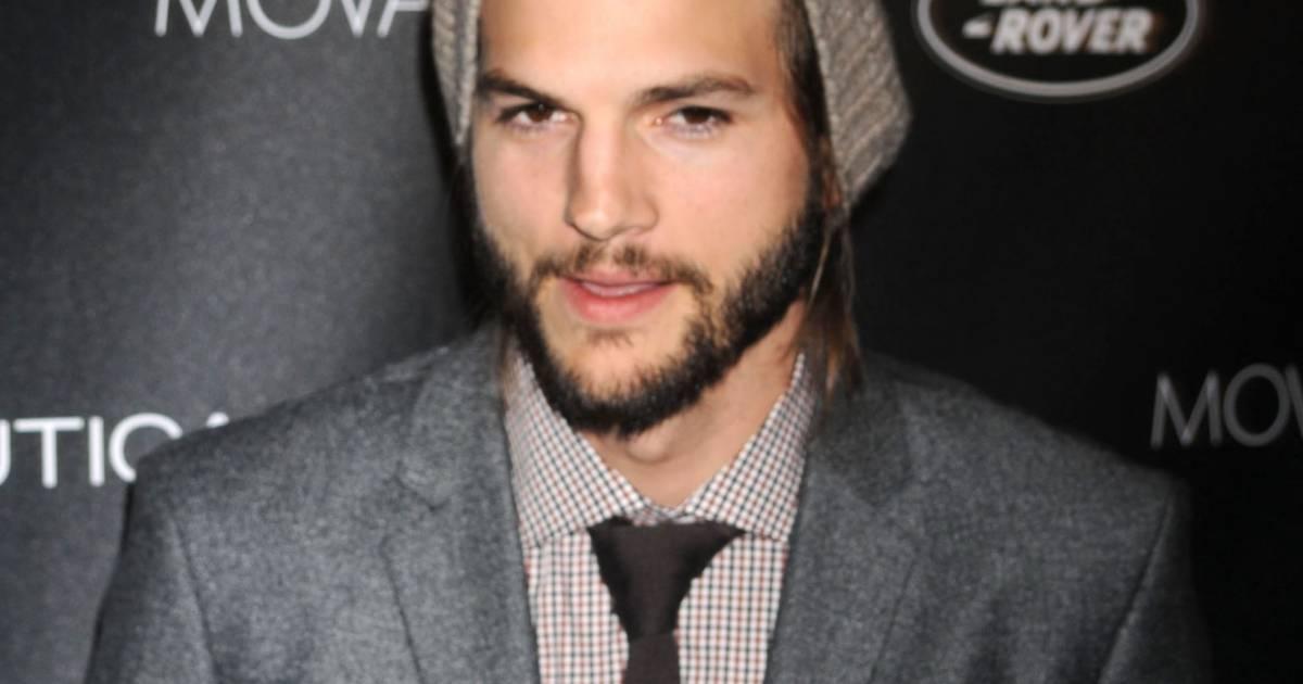 s 39 il arrive avoir une barbe d cente ashton kutcher regrette de ne pas avoir une plus grosse. Black Bedroom Furniture Sets. Home Design Ideas