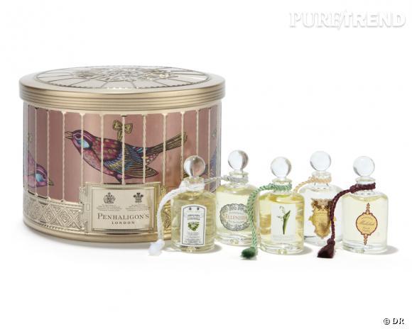Parfums pour Noël : coffret Ladies Fragrance, Penhaligon's, 45 €