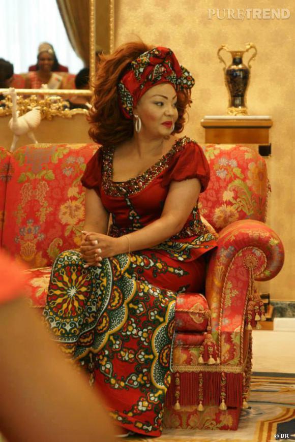 Chantal Biya, Première Dame du Cameroun, lors de l'évènement Kwalk 2013.