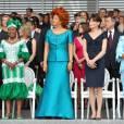 L'élégance de Chantal Biya, Première Dame du Cameroun.