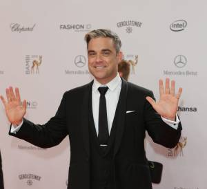 Robbie Williams fait un tabac aux Bambi awards.