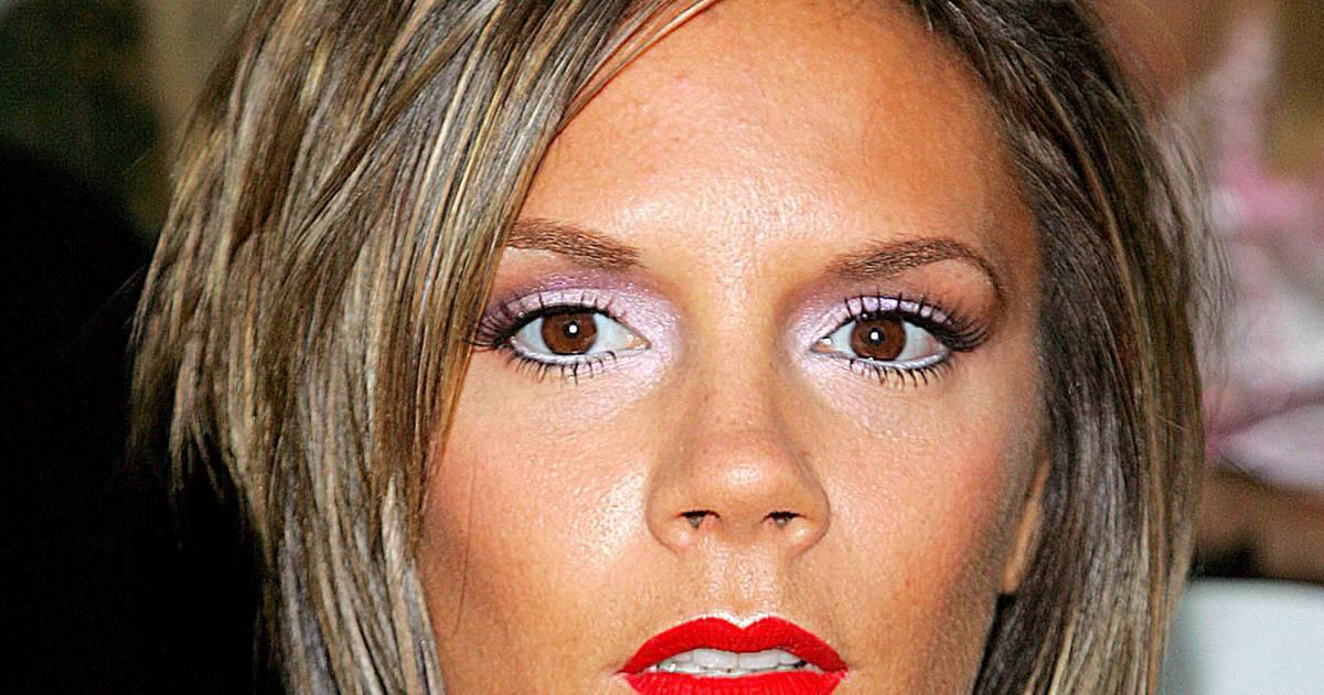 Avant : carré plongeant vulgaire et make-up de camion volé, Victoria Beckham est en flagrant ...