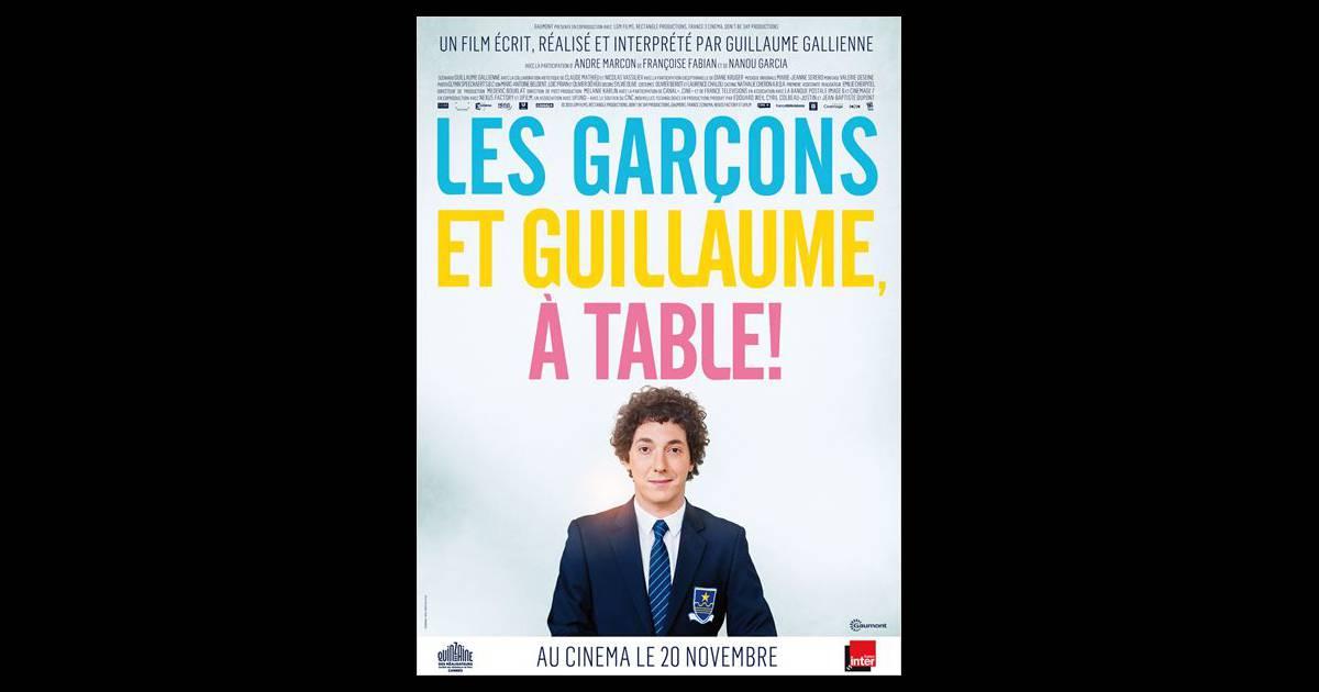 Les gar ons et guillaume table au cin ma aujourd 39 hui - Film les garcons et guillaume a table ...