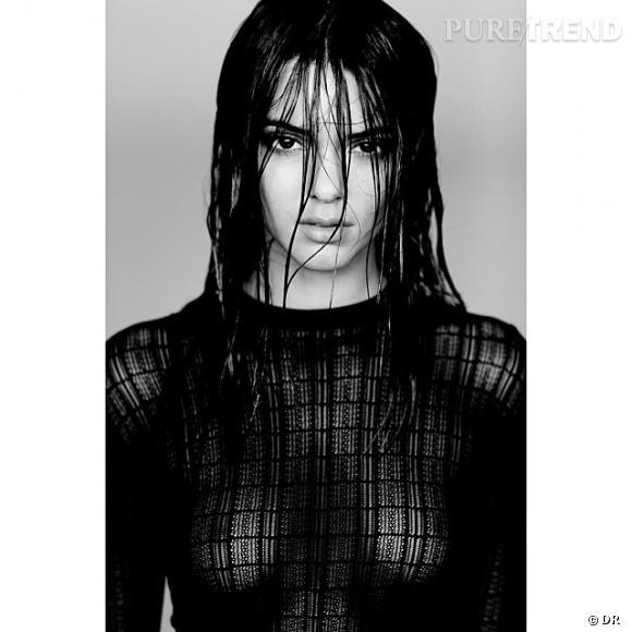 Kendall Jenner n'a pas froid aux yeux, à 18 ans à peine, elle montre ses seins sur Instagram.