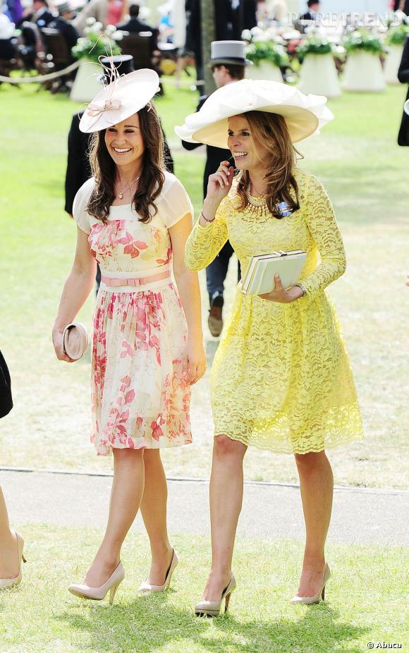 Pippa Middleton, une mariée fleurie ?