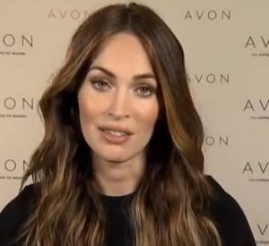 Megan Fox prend la parole pour la campagne Avon contre les violences conjugales.