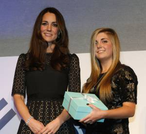 Kate Middleton au gala SportAid à Londres le 28 novembre 2013.