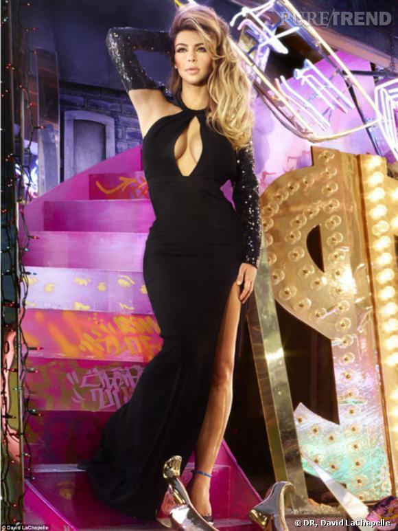 Kim kardashian les 13 signes cach s de la carte de no l for Maison de la famille kardashian