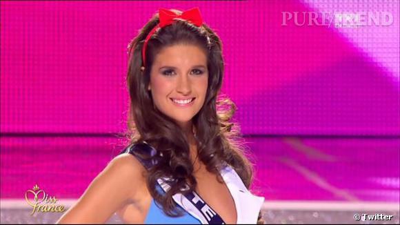 Miss Cote d'Azur est 3e dauphine.