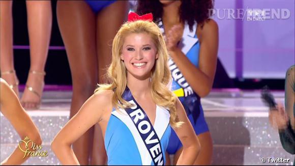 Miss Provence est 2e dauphine.
