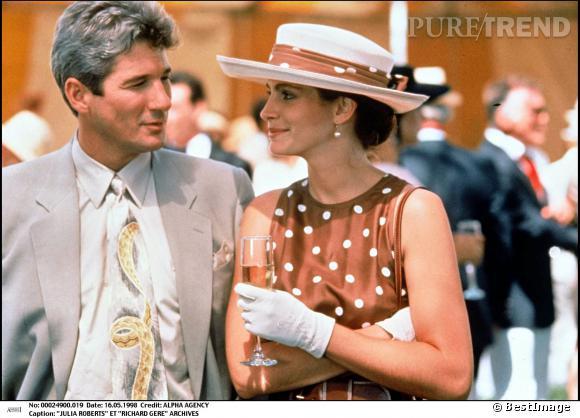 Julia Roberts, la belle de Richard Gere dans Pretty Woman.