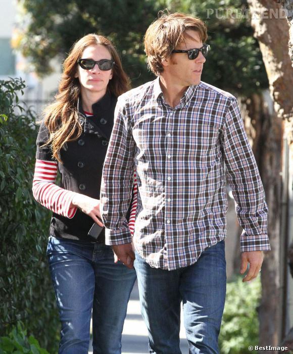 Julia Roberts et son mari Daniel Moder.
