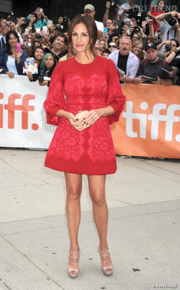 Julia Roberts en septembre 2013 : n'a-t-elle pas pris du poids depuis ?