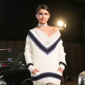 Miroslava Duma au défilé des Métiers d'Art Chanel 2013/2014 Paris-Dallas.