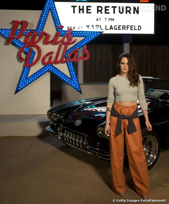 Kristen Stewart, visage de la collection Paris-Dallas de Chanel.