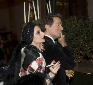 Catherine Baba et Vincent Darré - le jardin d'hiver de l'hôtel Prince de Galles