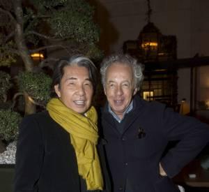 Kenzo Takada et Gilles Bensimon - le jardin d'hiver de l'hôtel Prince de Galles