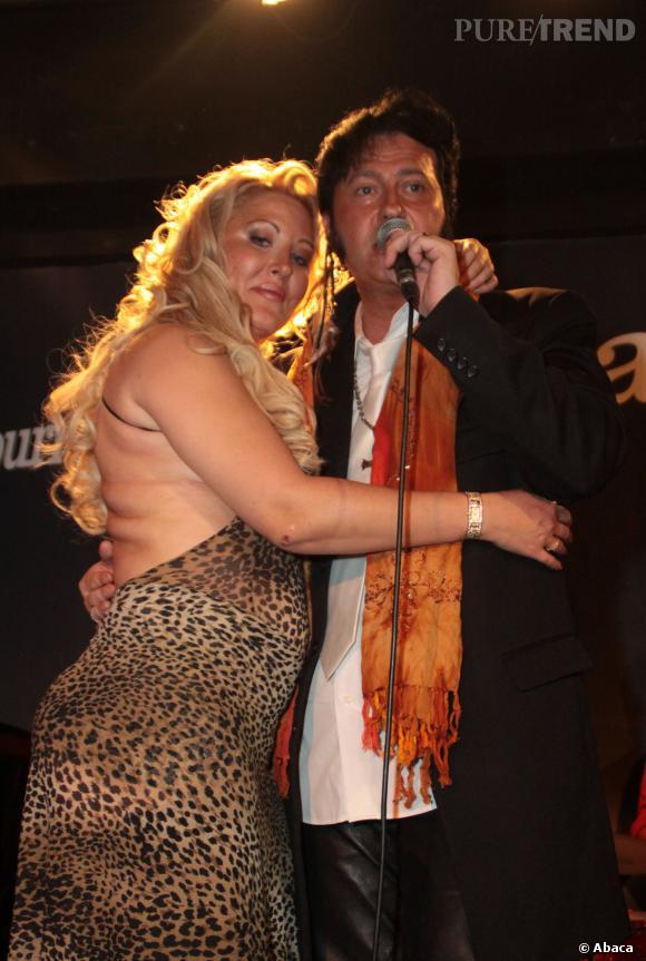 Loana et son meilleur ami Eryl Prayer en 2011.
