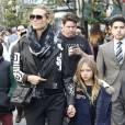 Heidi Klum et son mini moi dans les rues d'Hollywood.
