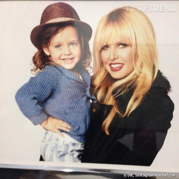 Rachel Zoe avec son fils... Elle le fait même participer à des shootings professionnels.