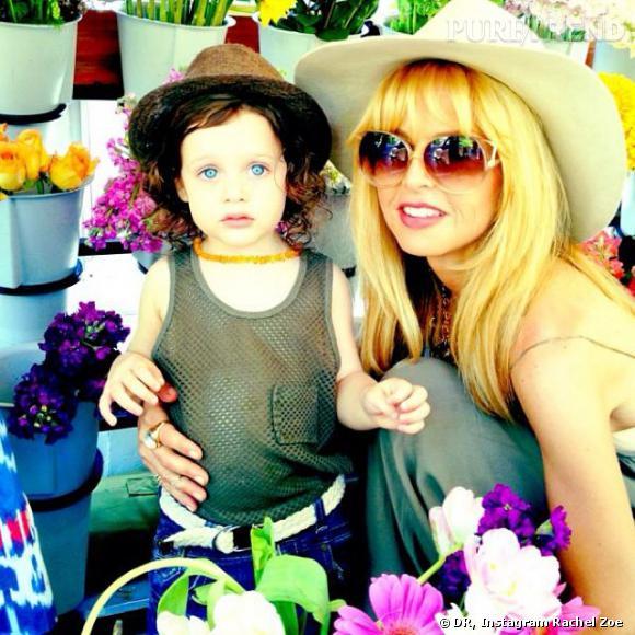 Rachel Zoe et Skyler. L'arrivée du deuxième fils de la styliste risque de provoquer une crise familiale.