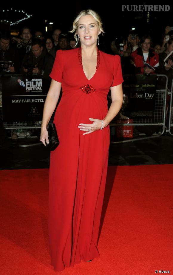 Si Kate Winslet a accouché le 7 décembre dernier, nous n'avons su que lundi 23 décembre le prénom de son fils : Bear (Ours en français).