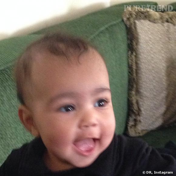 North West, la fille de Kim Kardashian et Kanye West.