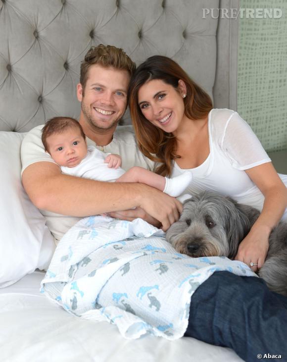 Jamie-Lynn Sigler et son fiancé Cutter Dykstra nous présente leur garçon  Beau.
