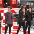 De retour sur le Today Show un an plus tard, les One Direction s'affichent avec plus de finesse et ne sont coordonnés que par les couleurs.
