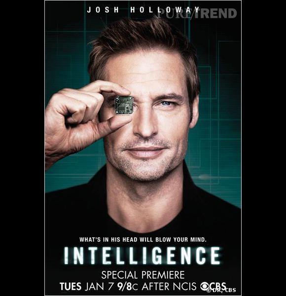 """Intelligence"" avec Josh Holloway, le 7 janvier sur CBS."