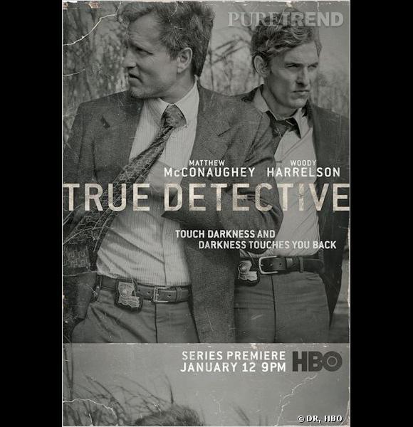"""""""True Detective"""" avec Matthew McConaughey, le 12 janvier sur HBO."""