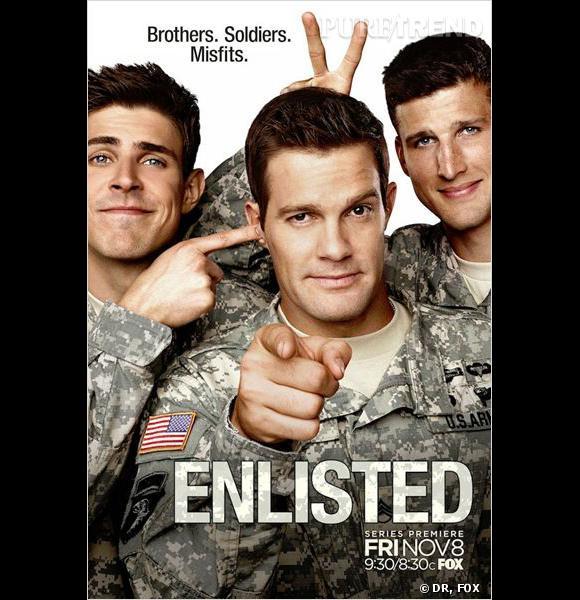 """""""Enlisted"""", le 10 janvier sur FOX."""