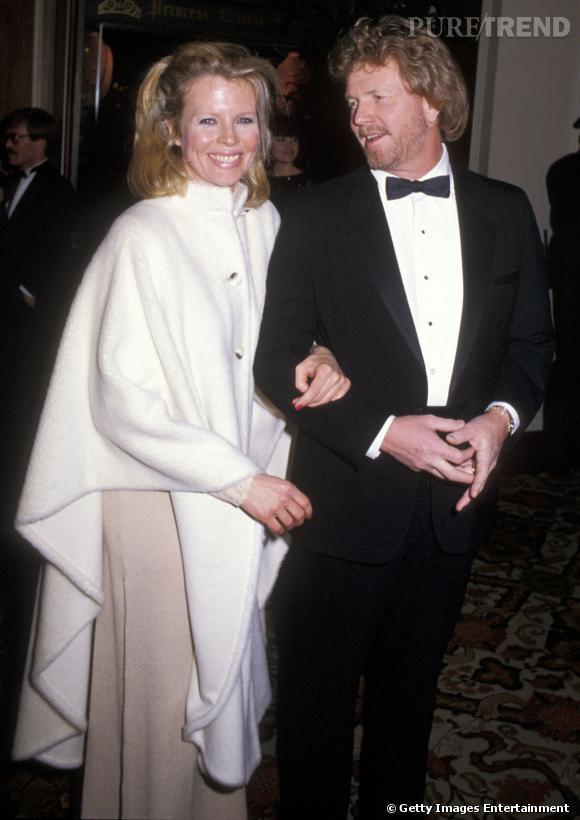 Kim Basinger et Ron Snyder Britton pour les Golden Globes en 1985....