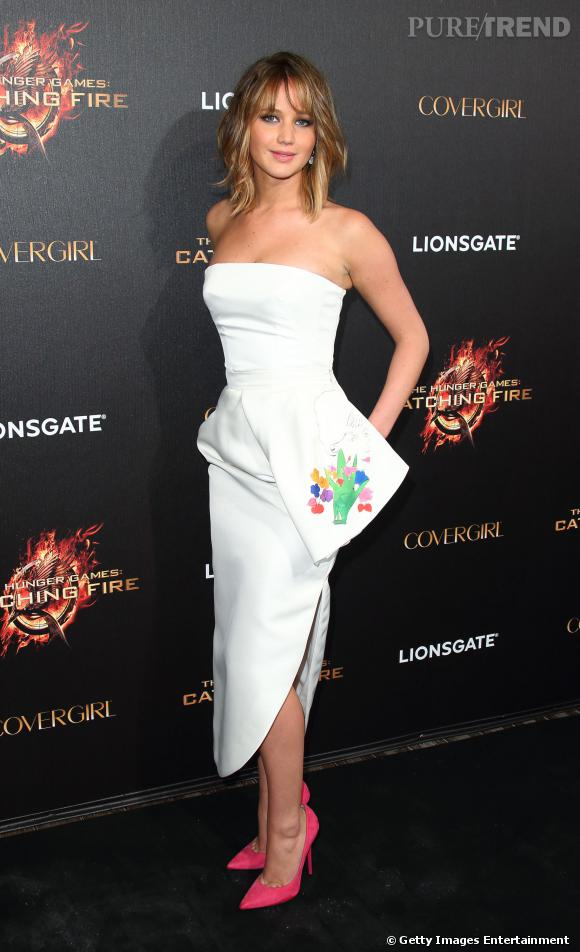 Sur le red carpet... Jennifer lawrence.