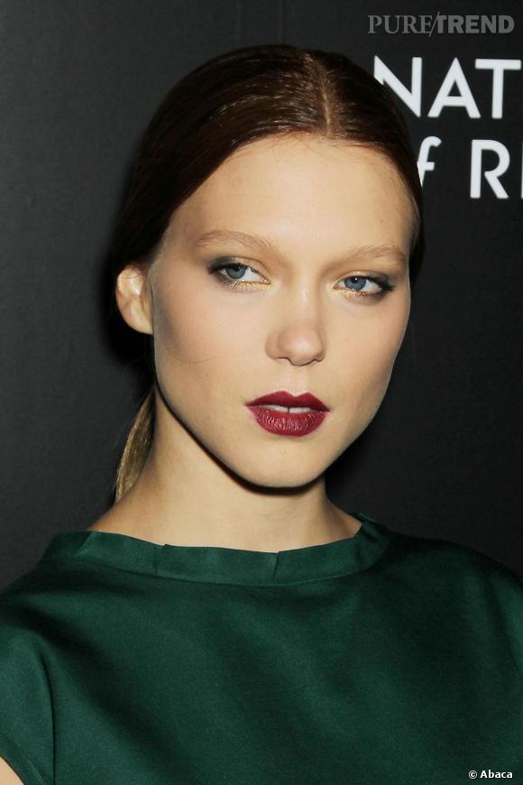Léa Seydoux, belle à tomber avec un beauty look parfait.