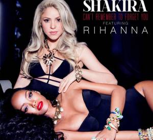 """Shakira x Rihanna : le duo """"Can't Remember To Forget You"""" dévoile sa pochette"""