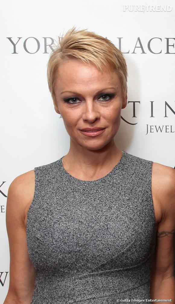 Pamela Anderson version garçonne.