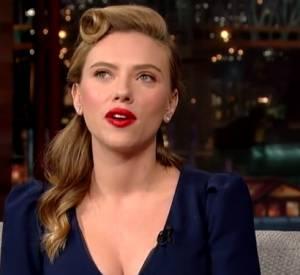 Scarlett Johansson en a ras le bol des Parisiens, elle le confie à David Letterman.