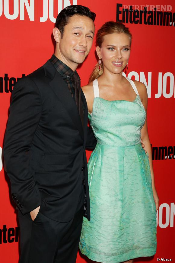 Scarlett Johansson et Joseph Gordon-Levitt, son partenaire dans Don Jon.