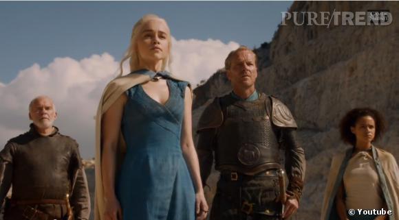 """La chaîne HBO a diffusé le trailer de """"Game of Thrones"""" saison 4, qui reprendra le 6 avril..."""