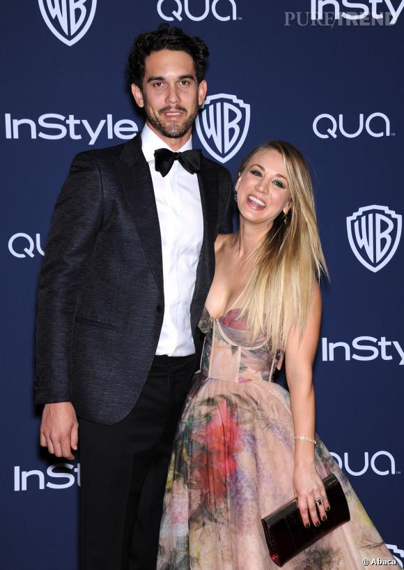 Kaley Cuoco et Ryan Sweeting à l'after party InStyle des Golden Globes 2014.