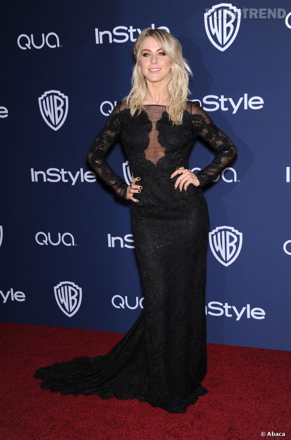 Julianne Hough à l'after party InStyle des Golden Globes 2014.