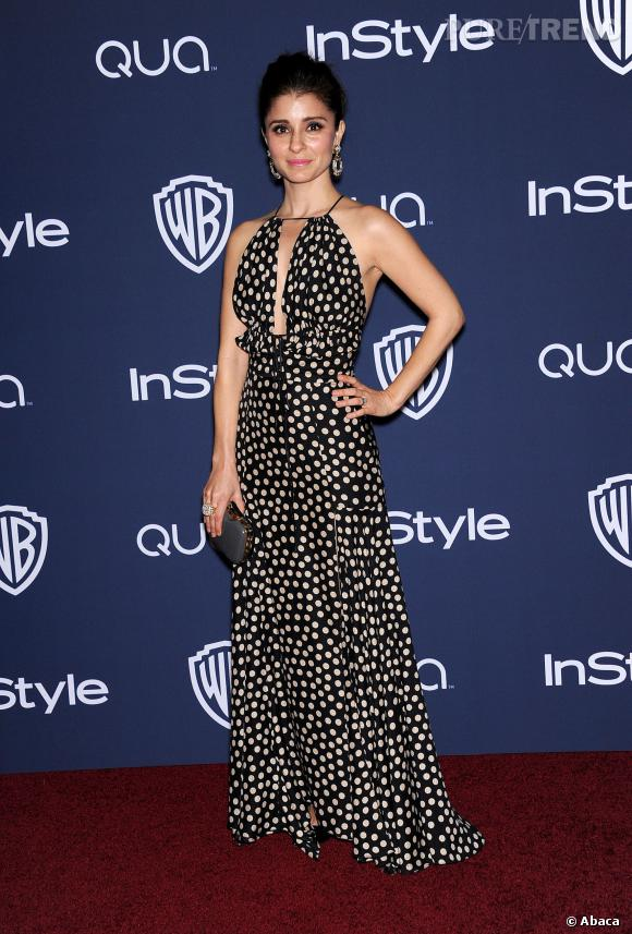 Shiri Appleby à l'after party InStyle des Golden Globes 2014.