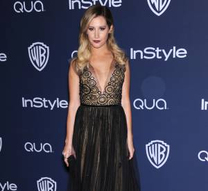 Ashley Tisdale à l'after party des Golden Globes 2014.